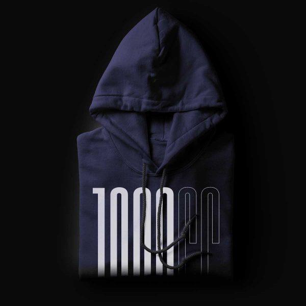 1000cc Club Navy Hoodie