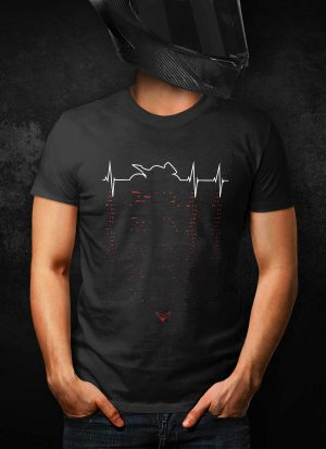 Sport Motorcycle Heartbeat T-Shirt