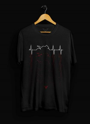 Sport Motorcycle Heartbeat T-Shirt