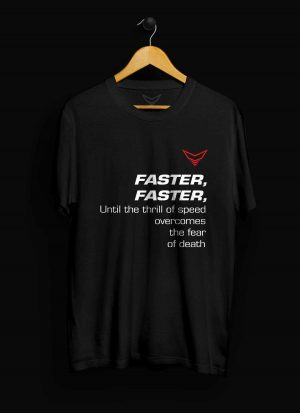 Faster Motorcycle T-Shirt