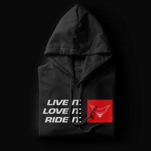 Live It. Love It. Ride it. Hoodie