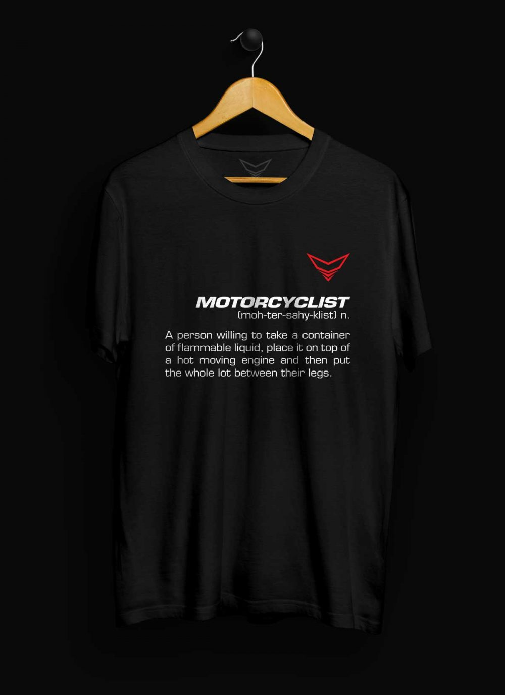 Motorcyclist Definition T-Shirt