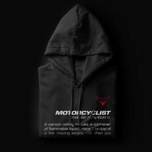 Motorcyclist Definition Hoodie