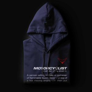 Motorcyclist Definition Hoodie