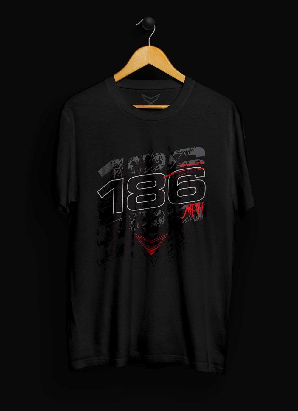 186MPH Motorcycle T-Shirt