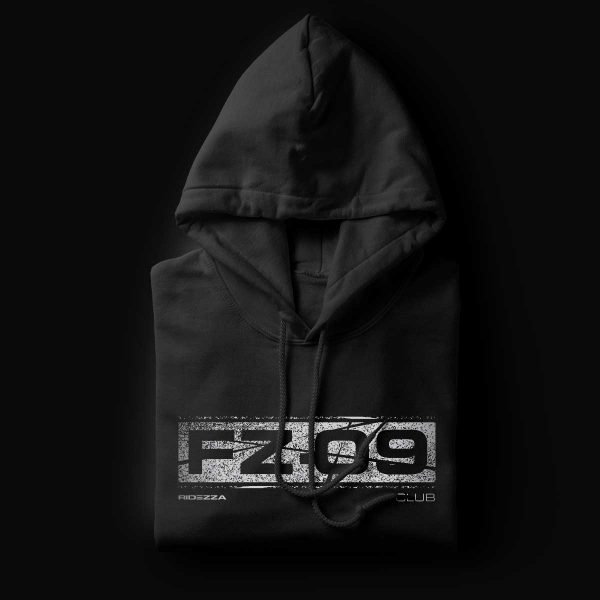 Yamaha FZ-09 Black Hoodie