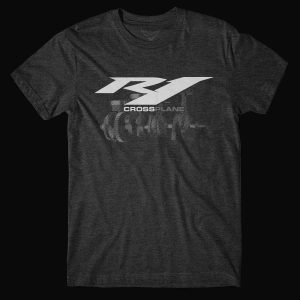 Yamaha R1 Cross Plane Tri-blend T-Shirt