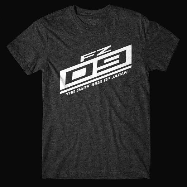 FZ-09 Dark Side of Japan Black T-Shirt