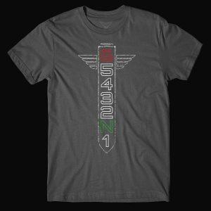 Motorcycle Gear Shift Racing 1N23456 T-Shirt