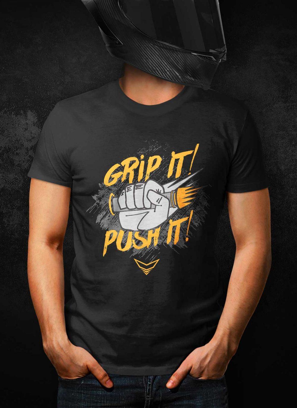 Grip It! Push It! T-Shirt