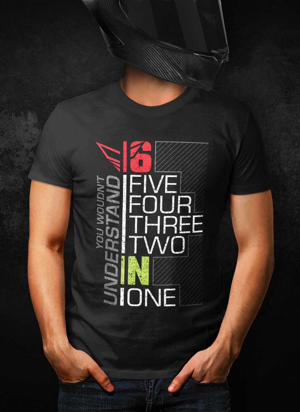 Motorcycle Gear Shift V.2 T-Shirt