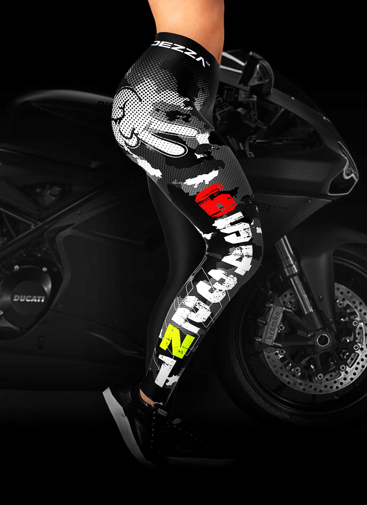 6c72c75efd0c3 Gear Shift 1N23456 Motorcycle Leggings | Ridezza