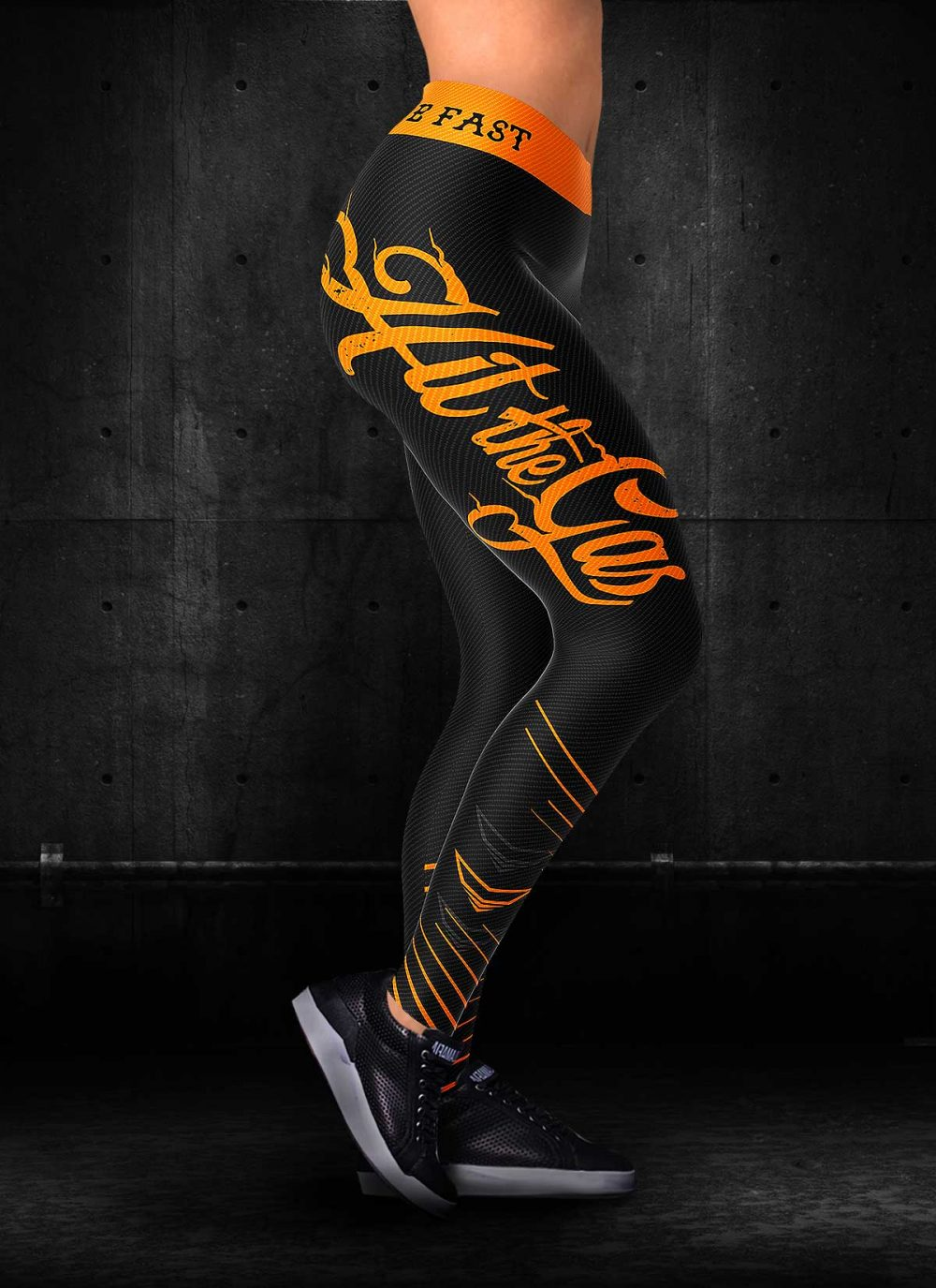 Hit the Gas | Ride Hard Motorcycle Leggings