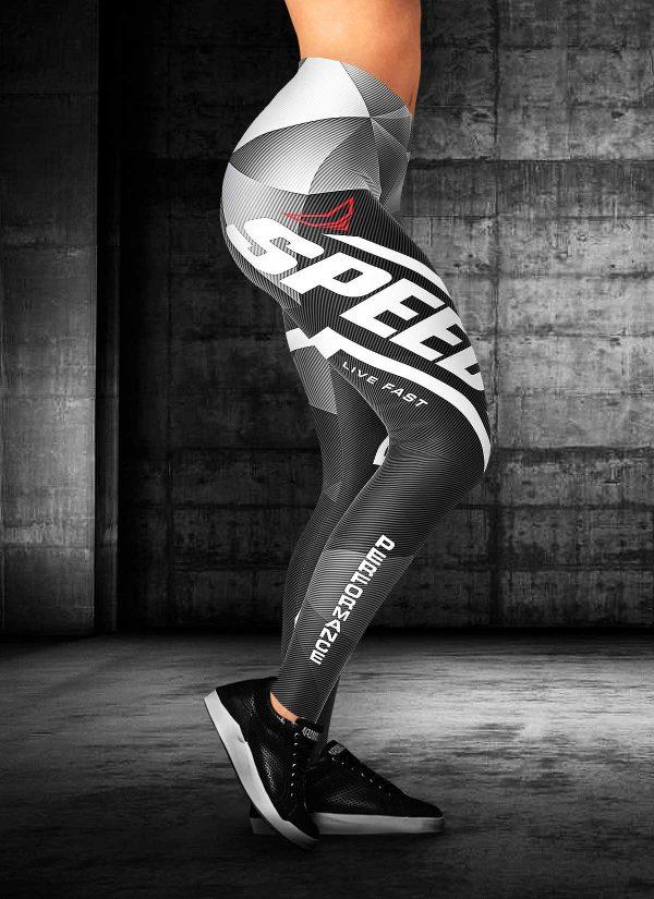 Motorcycle Speed Performance Leggings