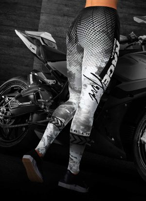 Race Hard Motorcycle Leggings