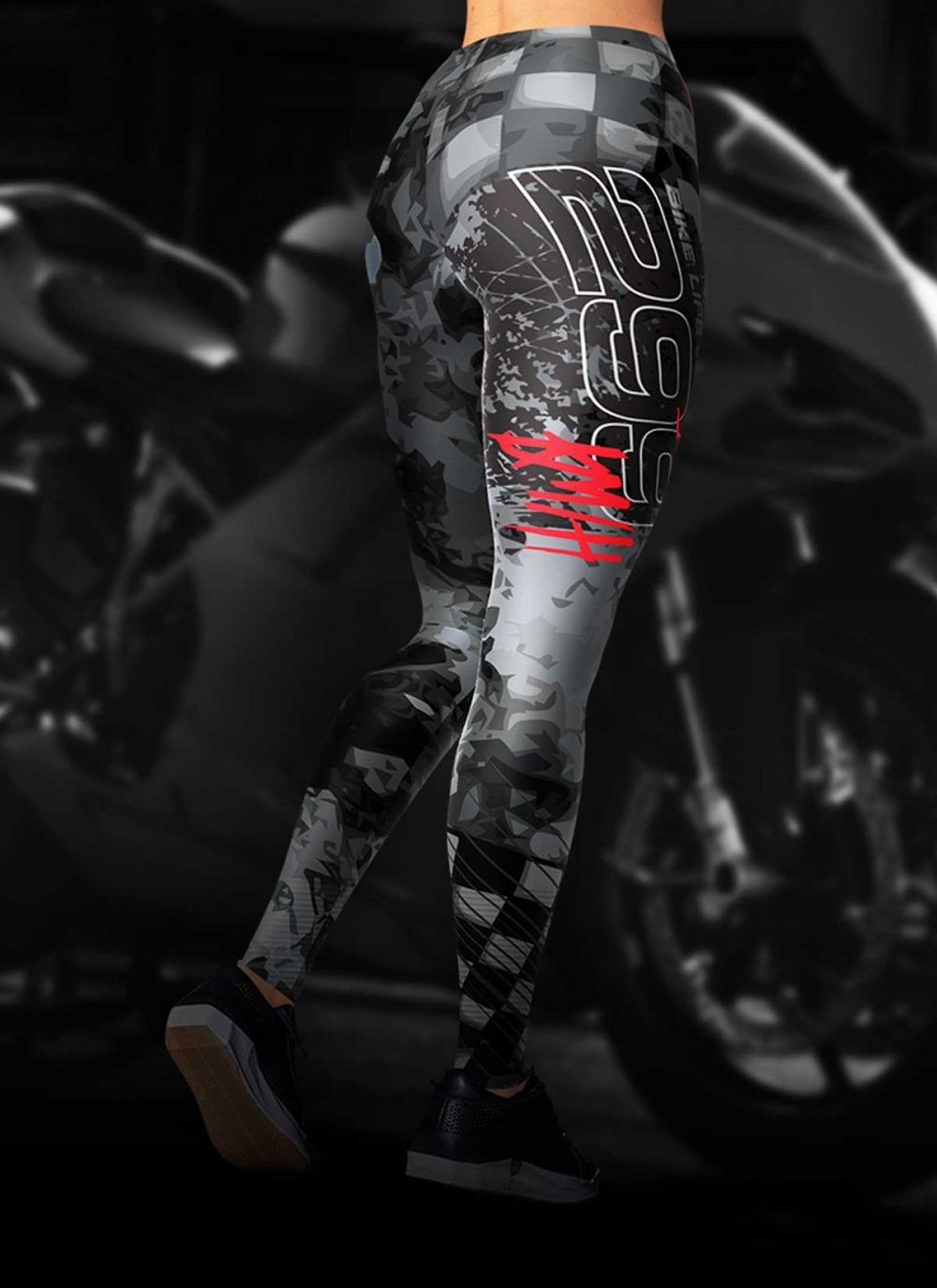 Motorcycle 299 KM/H Leggings
