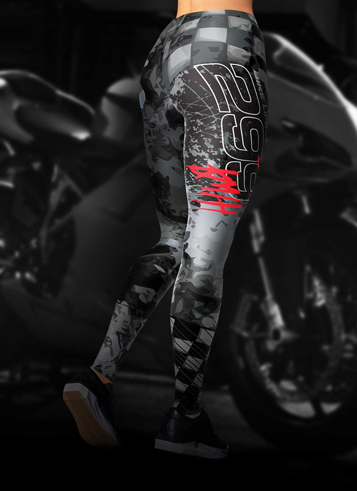 d98411277c6a3 299 KM/H Full Speed Motorcycle Leggings | Ridezza