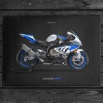 S1000RR HP4 Poster