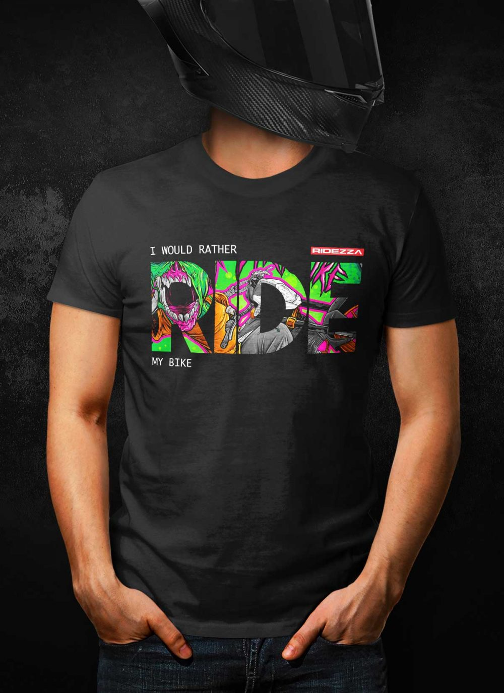 I Would Rather Ride My Bike DBL Edition T-Shirt