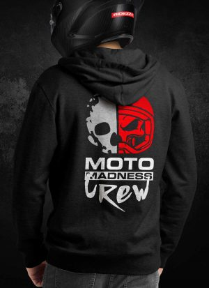 Moto Madness Crew Hoodie [Rear]