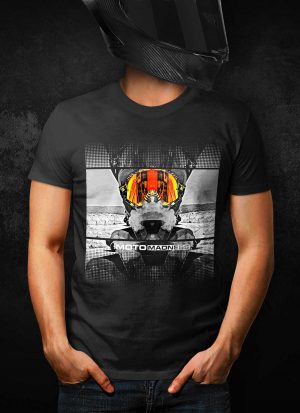 Moto Madness Great View T-Shirt
