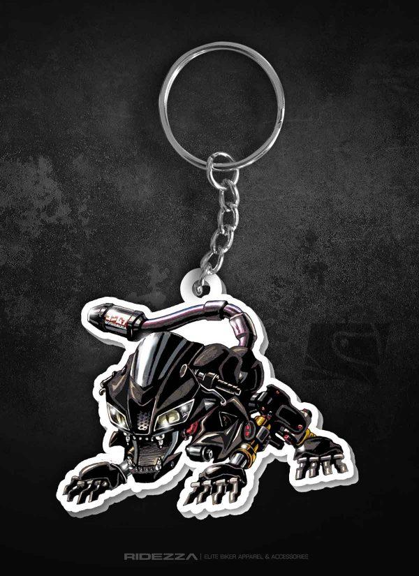 CBR 600RR Animal Keychain