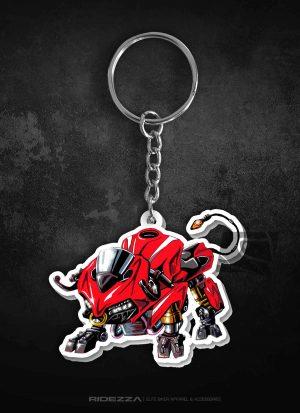 Ducati Panigale Animal Keychain