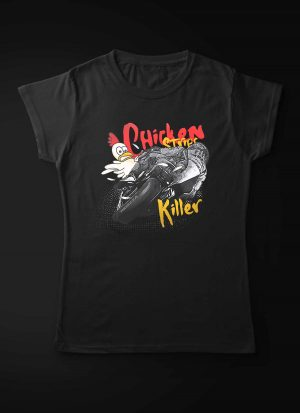 Motorcycle Chicken Strips Killer Women T-Shirt