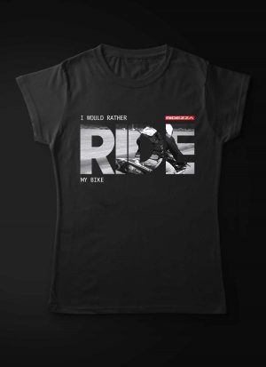 I Would Rather Ride My Bike Women T-Shirt
