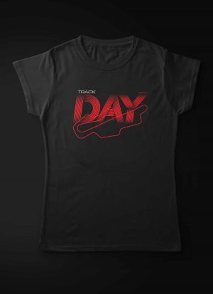 Track Day Motorcycle Women T-Shirt