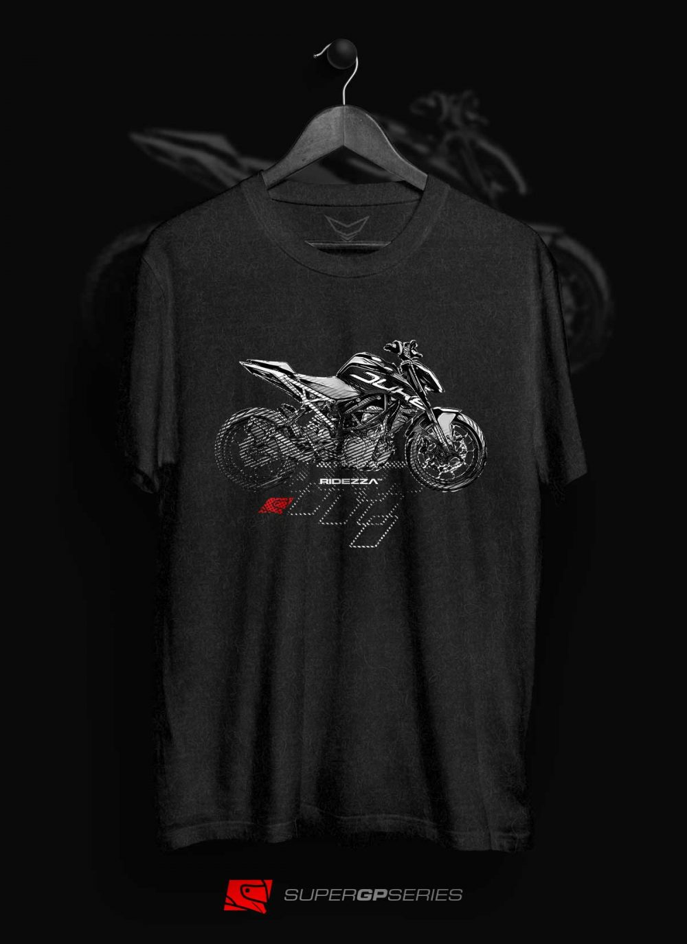 Ridezza 390 Duke SuperGP Series T-Shirt