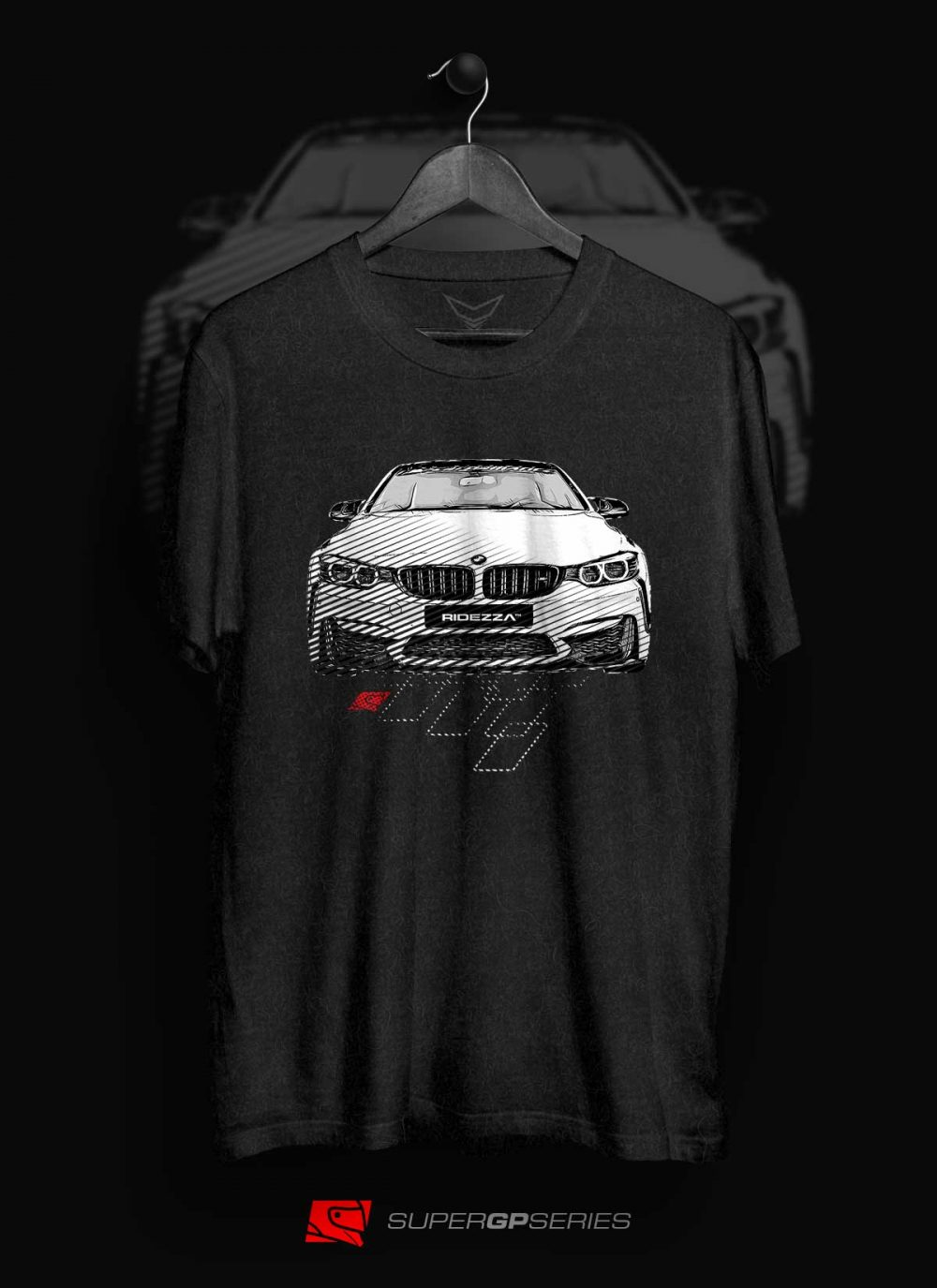 BMW M4 SuperGP Series T-Shirt