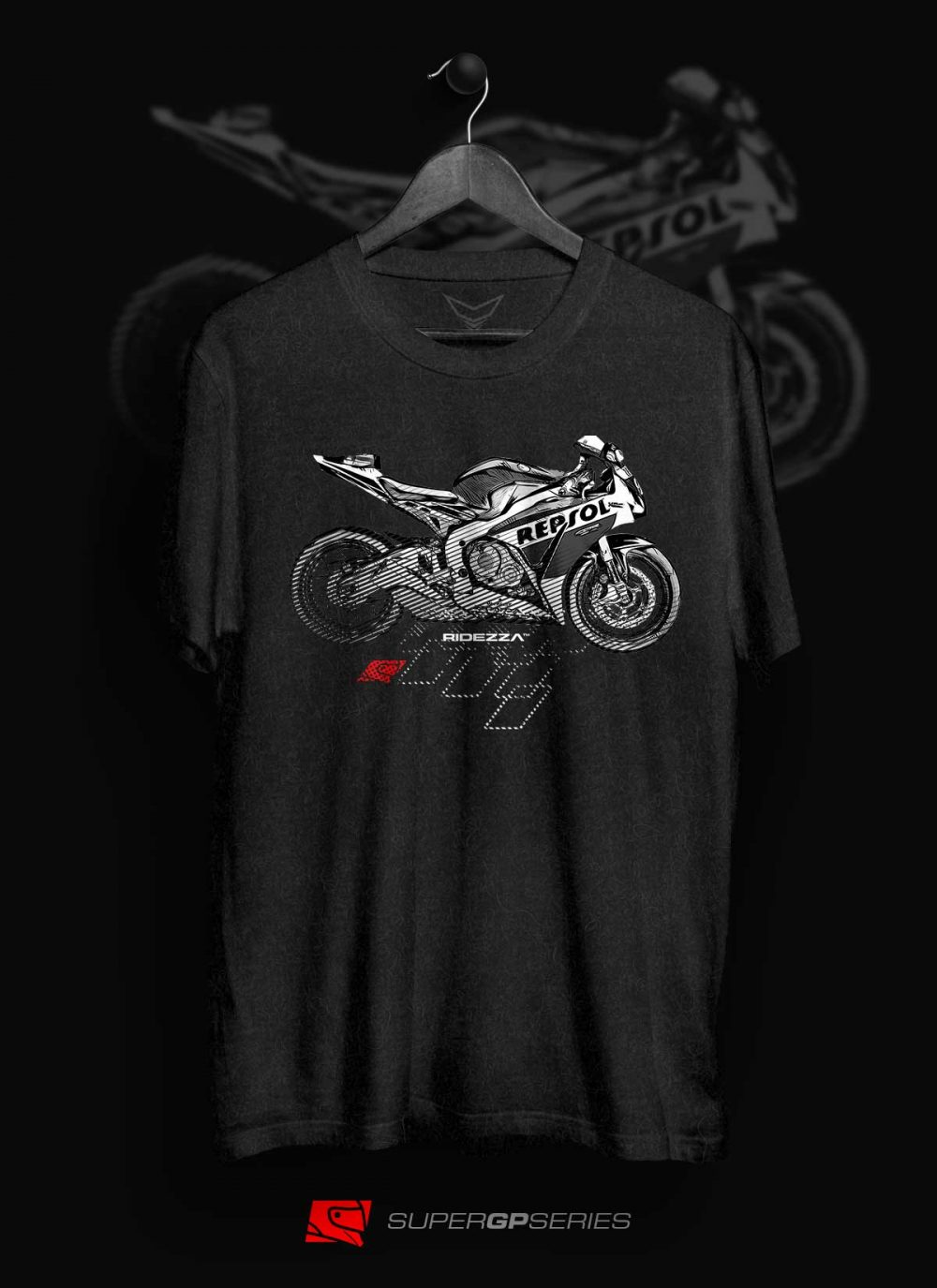 Ridezza CBR Repsol SuperGP Series T-Shirt