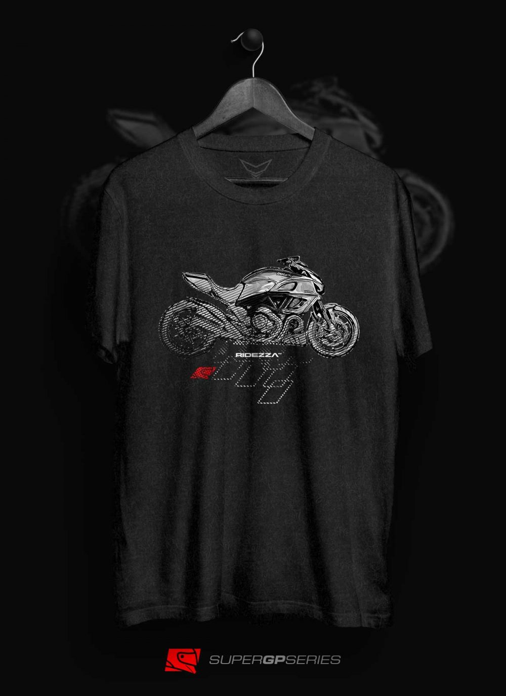 Ridezza Diavel SuperGP Series T-Shirt