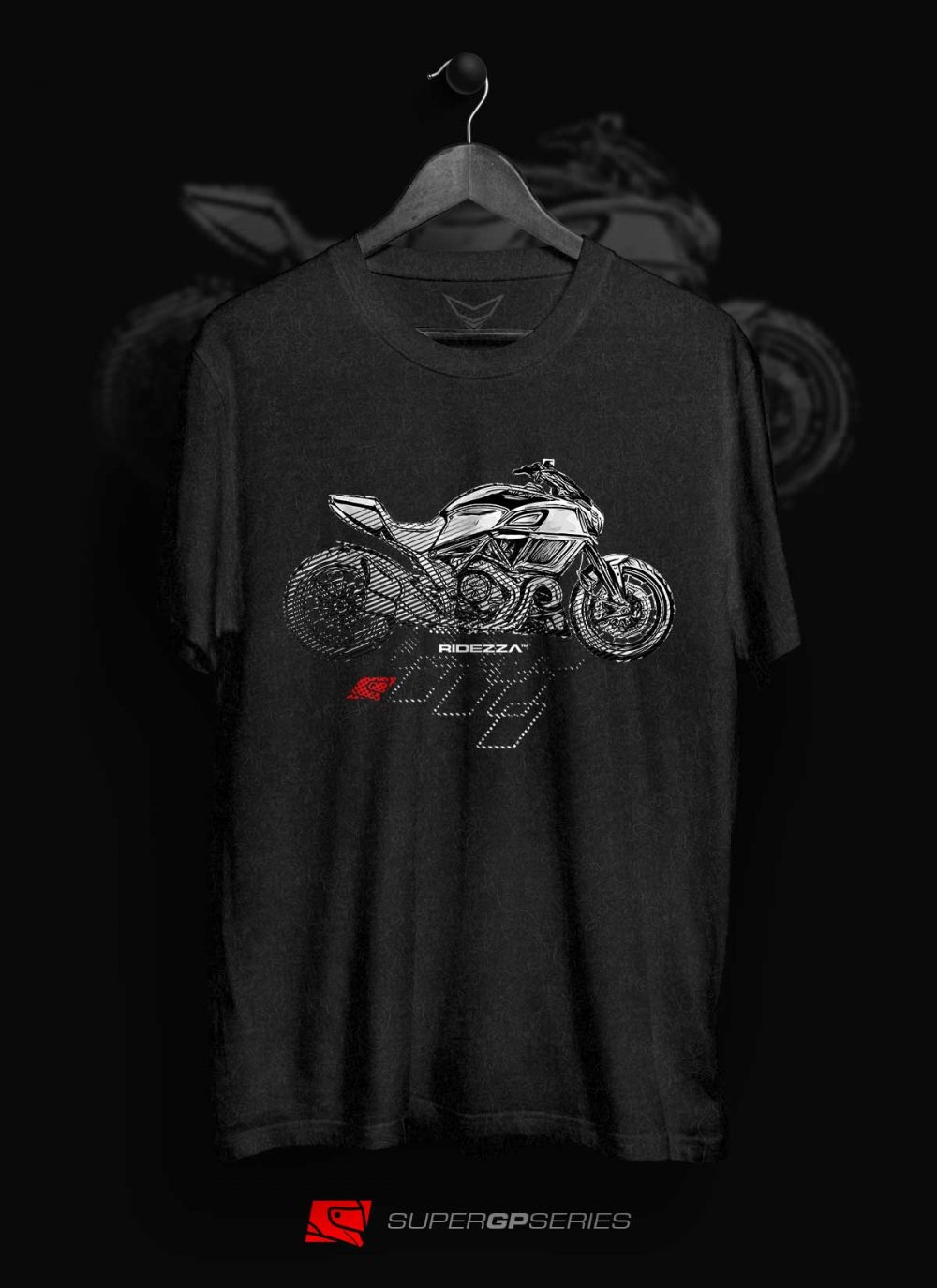 Ridezza Diavel Gen 2 SuperGP Series T-Shirt