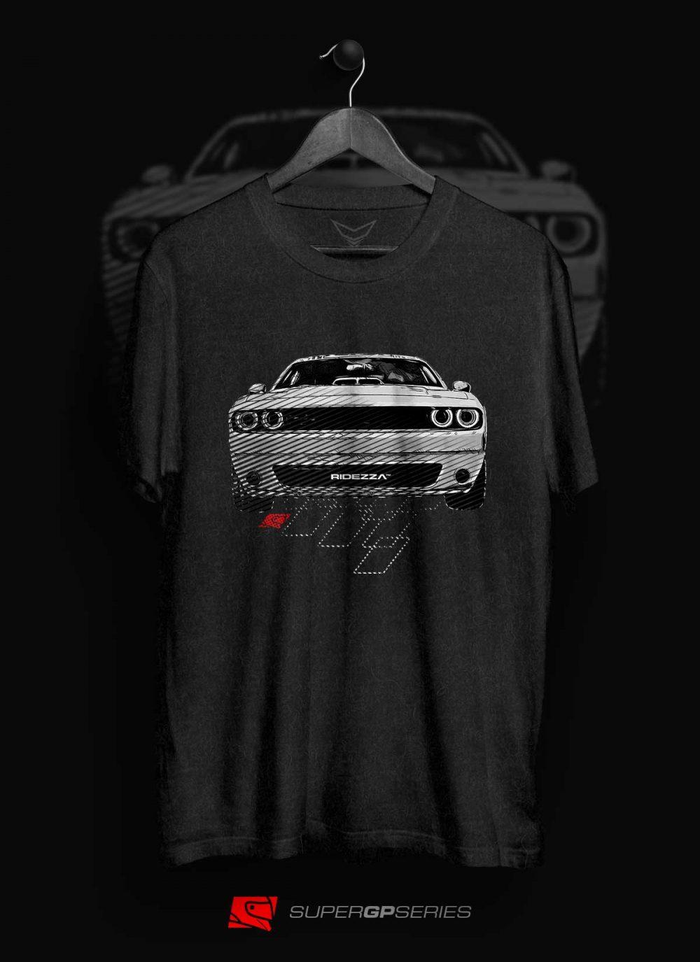 Dodge Challenger Hellcat SuperGP Series T-Shirt