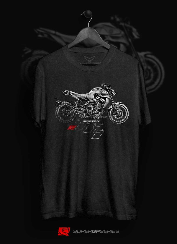 Ridezza FZ-09 MT-09 SuperGP Series T-Shirt