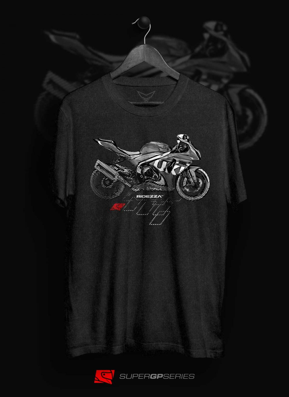 Ridezza GSXR Srad SuperGP Series T-Shirt