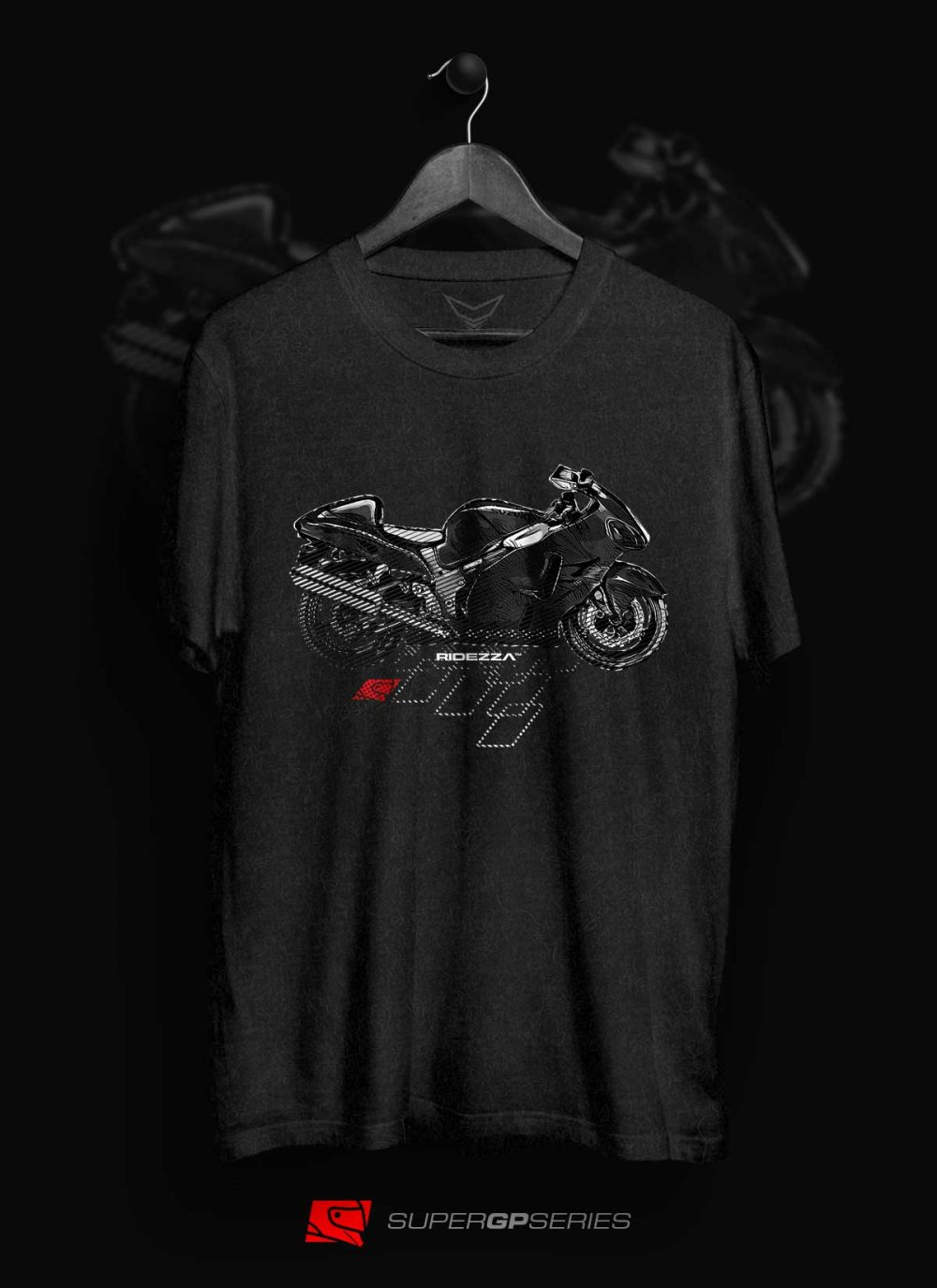 Ridezza Hayabusa SuperGP Series T-Shirt