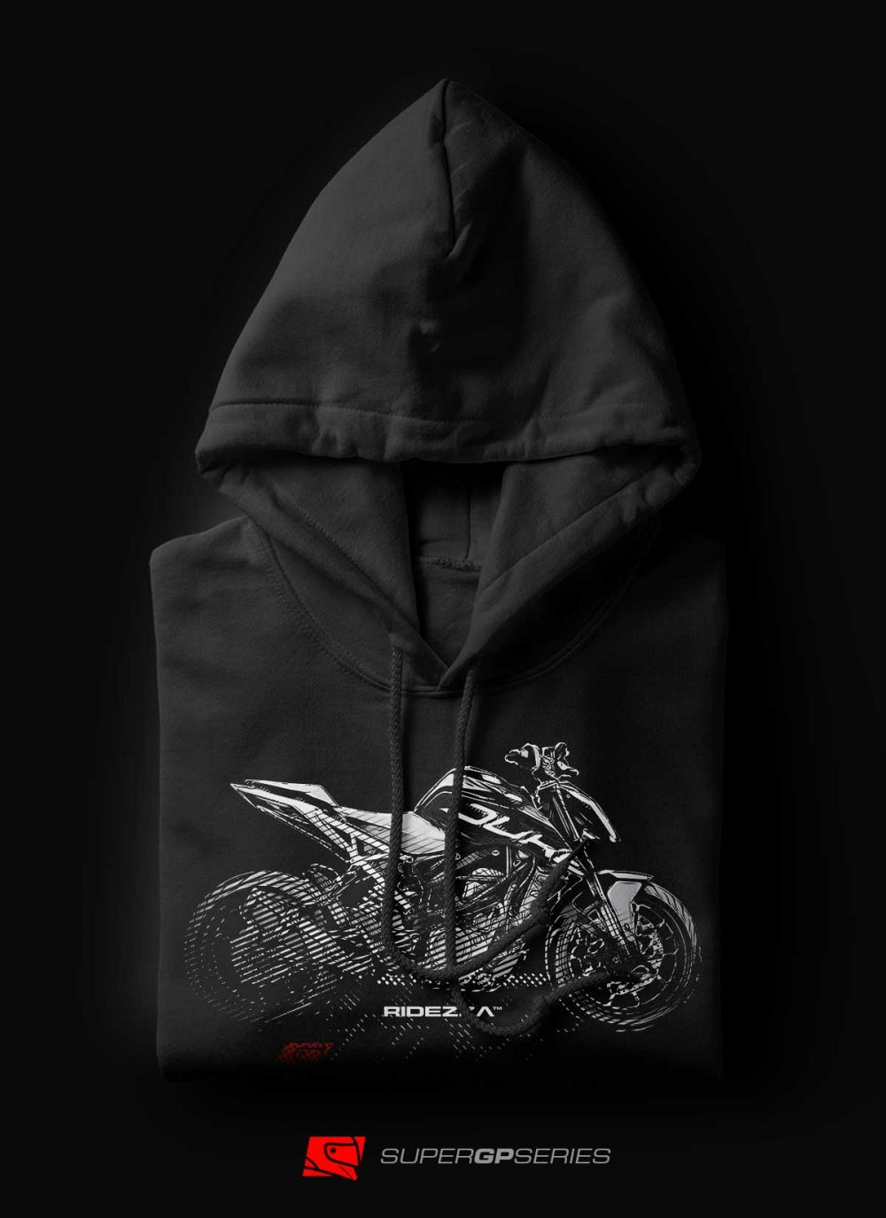 Ridezza 390 Duke SuperGP Series Hoodie