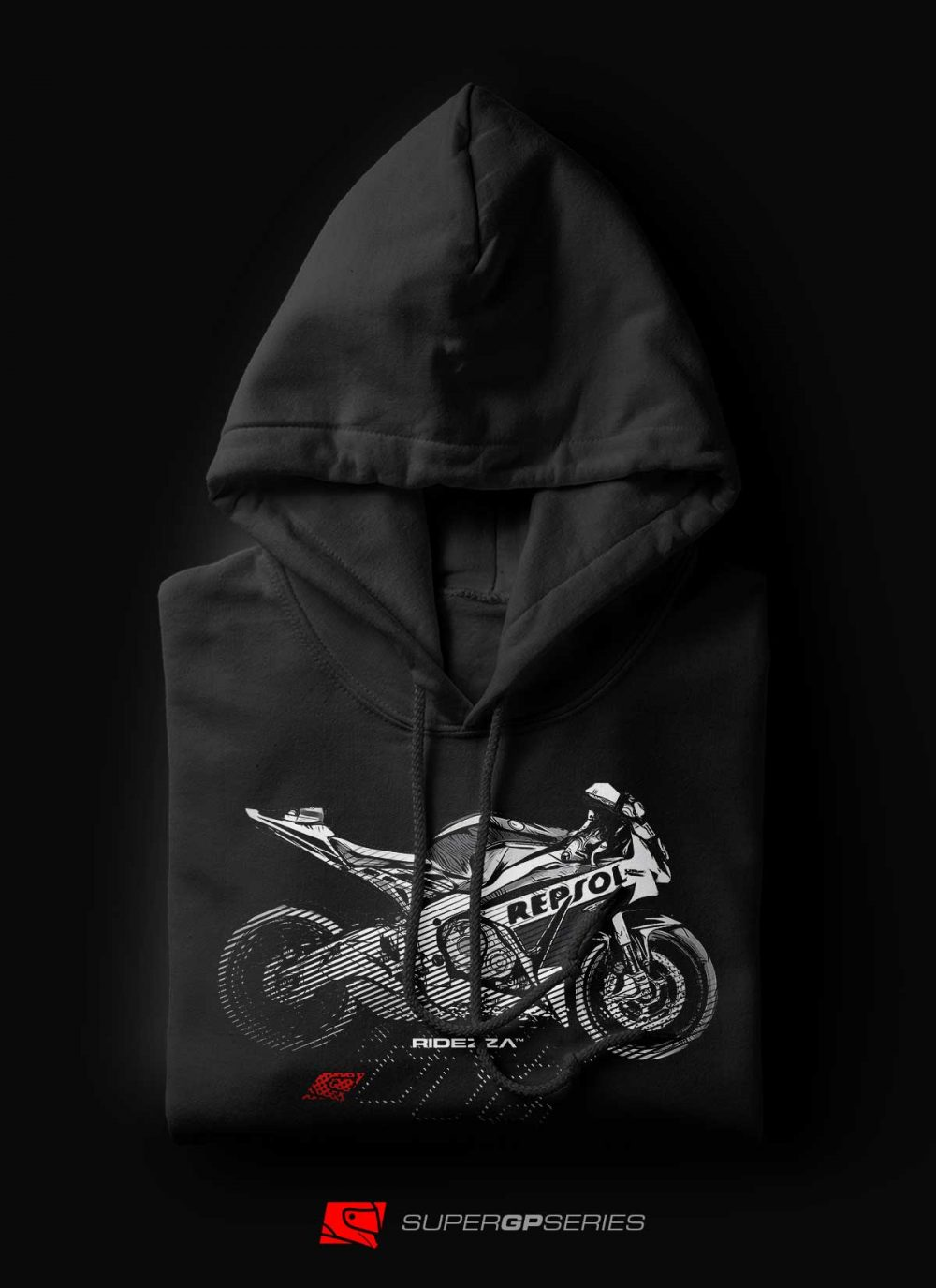 Ridezza CBR Repsol SuperGP Series Hoodie