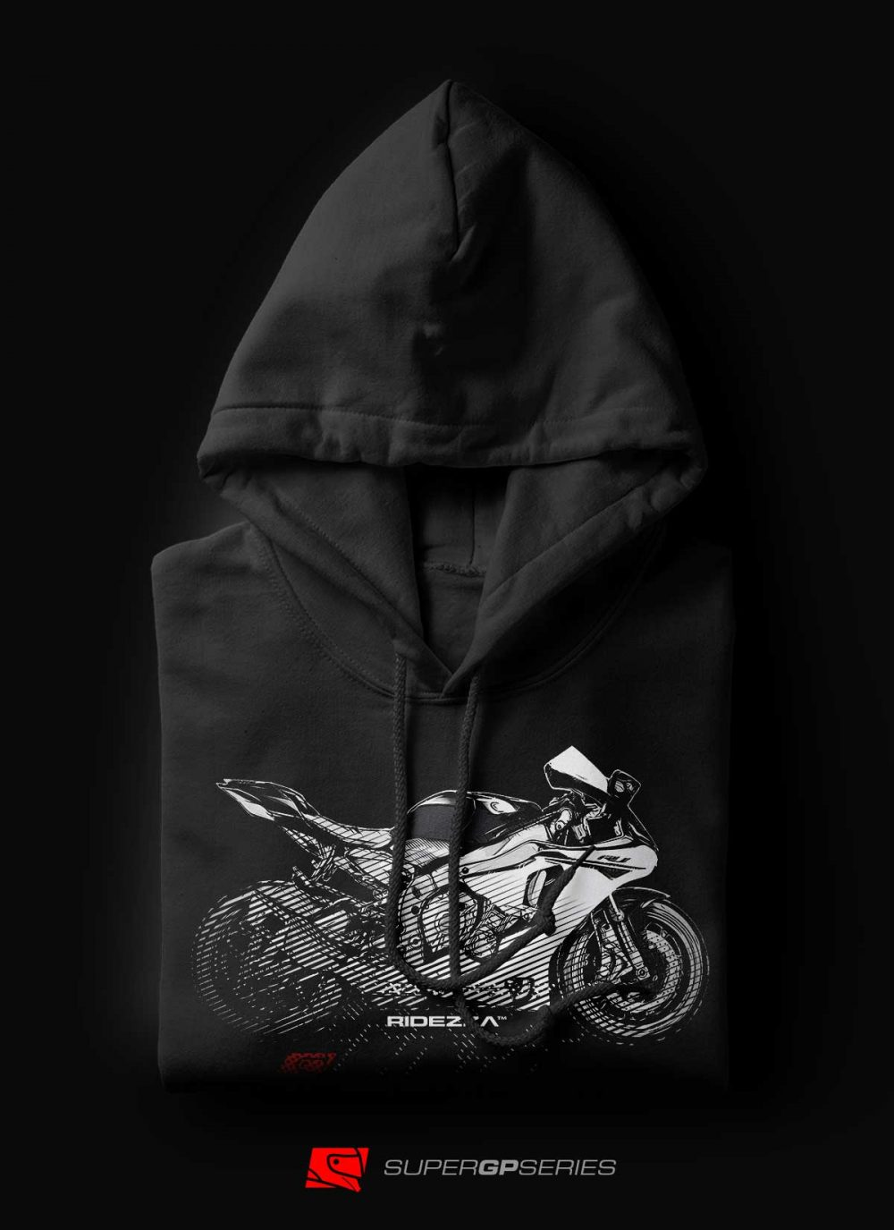 Ridezza YZF-R1 SuperGP Series [New Model] Hoodie