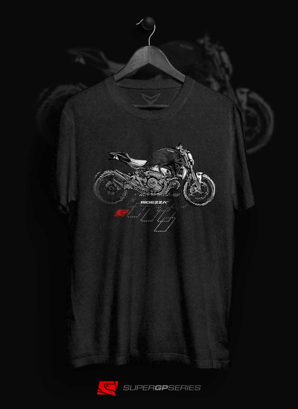 Ridezza Monster SuperGP Series T-Shirt