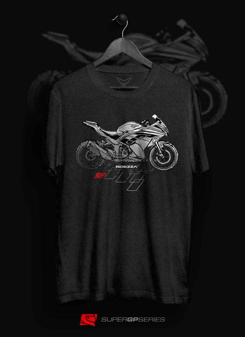 Ridezza Ninja 300 SuperGP Series T-Shirt
