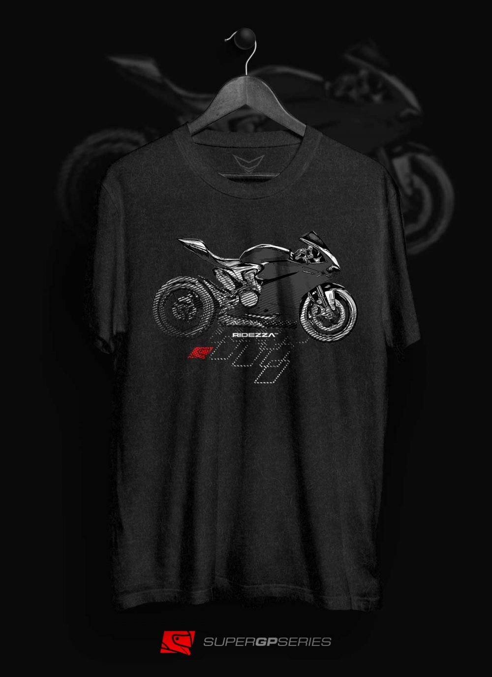 Ridezza Panigale SuperGP Series T-Shirt
