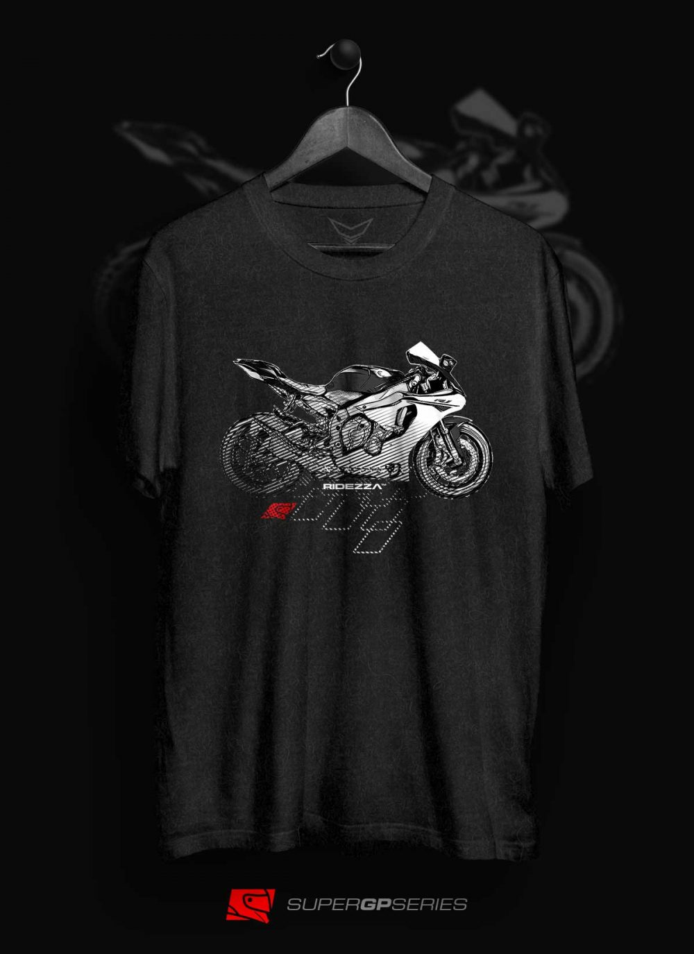 Ridezza YZF-R1 SuperGP Series [New Model] T-Shirt