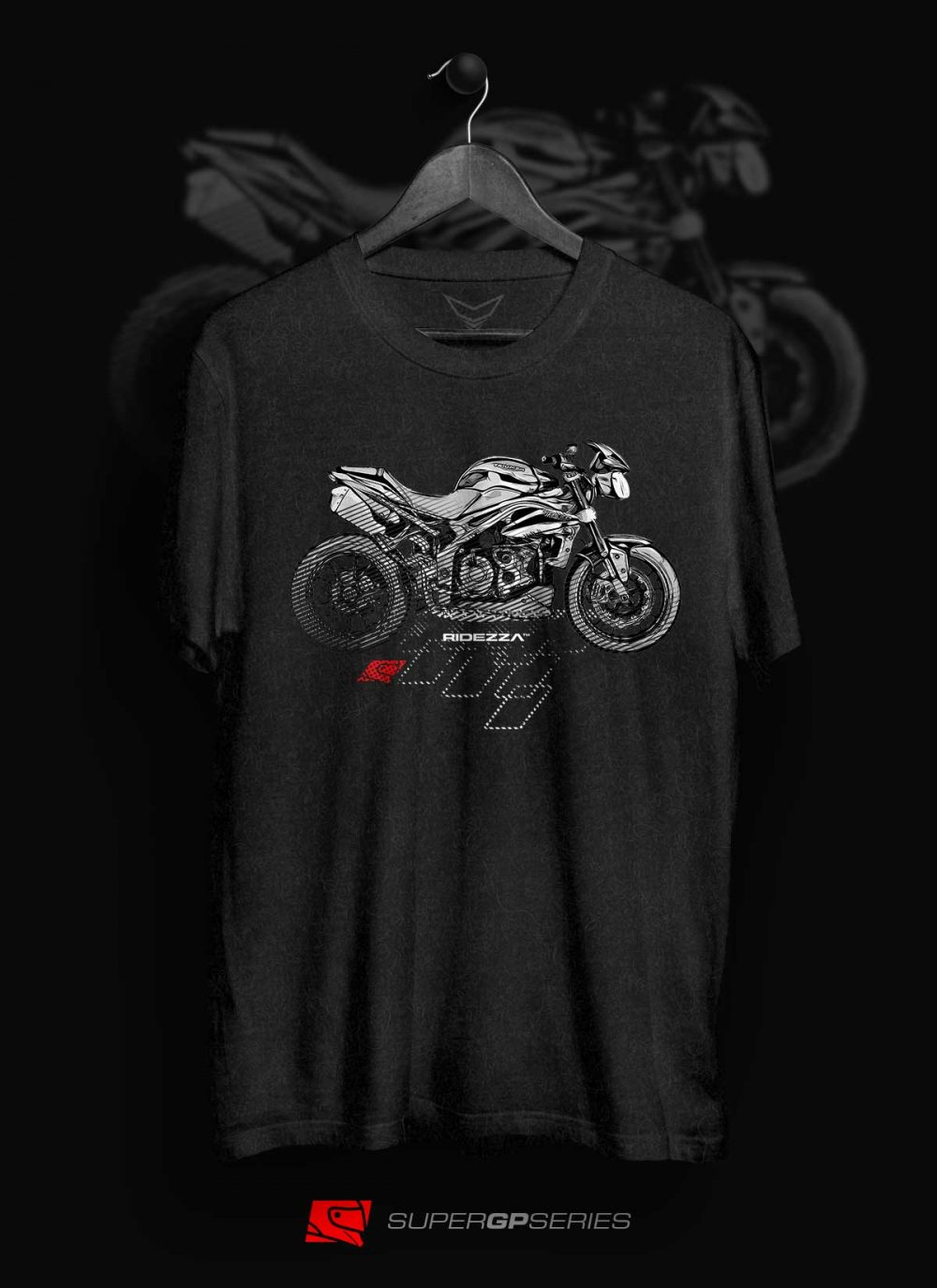 Ridezza Speed Triple SuperGP Series T-Shirt