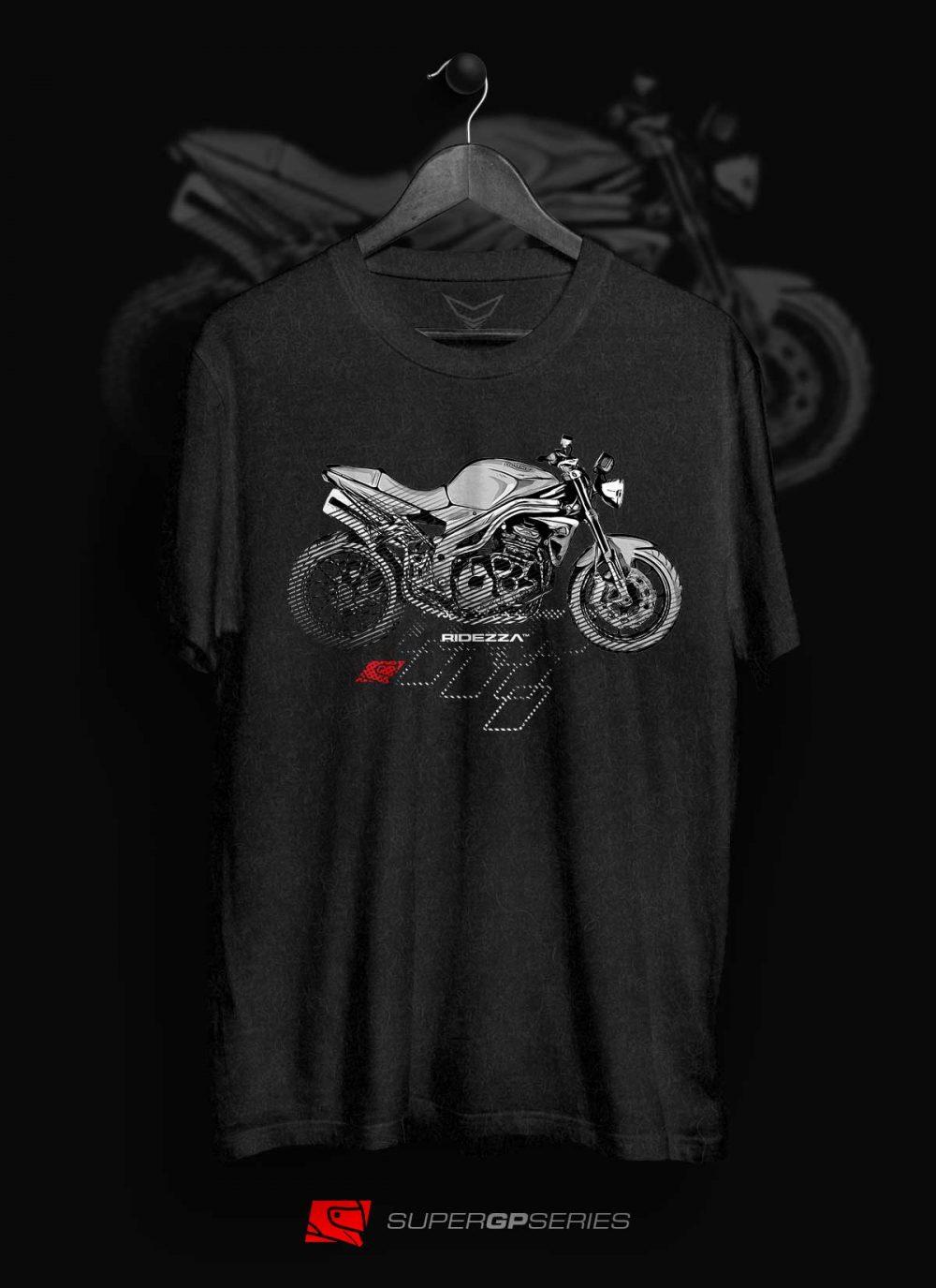 Ridezza Speed Triple 1050 SuperGP Series T-Shirt