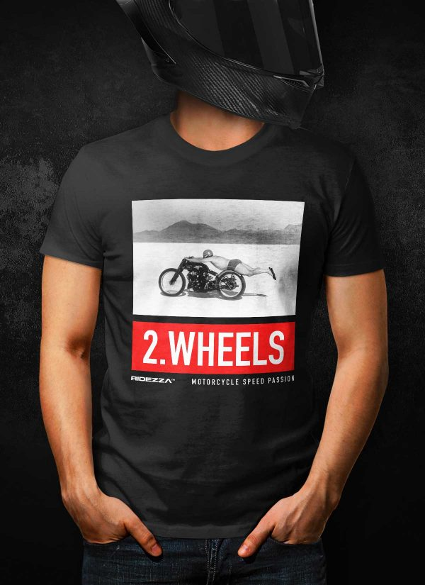 Rollie Free Motorcycle T-Shirt