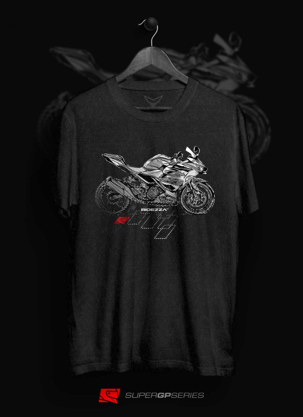 Ridezza Ninja 400 SuperGP Series T-Shirt